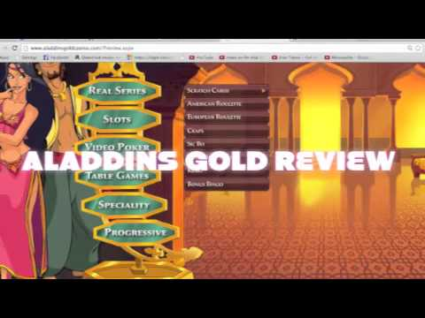 Aladdins Gold Casino Review Youtube