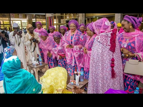 FATIMA GANDUJE AND IDRIS AJIMOBI WEDDING PREPARATIONS VIDEO 2018