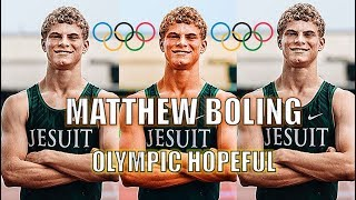 MATTHEW BOLING | OLYMPIC HOPEFUL | TOKYO OLYMPICS 2020