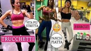 PANCIA PIATTA e VITA STRETTA !!! 5 TRUCCHETTI Semplici e Veloci che FANNO LA DIFFERENZA!!!