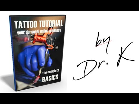 learn to tattoo at home: improve Linework with my tattoo video ...