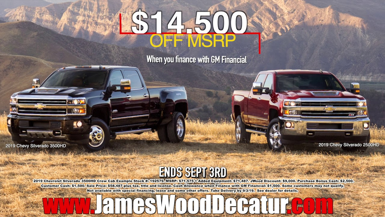 James Wood Chevrolet >> New Chevy Heavy Duty Truck Sale At James Wood Motors In Decatur Texas