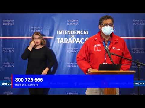 Punto de prensa 28 de junio de 2020 - Gobierno Regional de Tarapacá