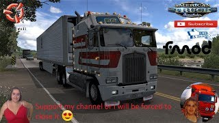 American Truck Simulator (1.37 Beta)   Kenworth K100-E Aerodyne v1.2 1.37x Delivery in Oregon DLC by SCS Software Trailer Jazzycat FMOD ON and Open Windows Project Next-Gen Graphics USA + DLC's & Mods https://forum.scssoft.com/viewtopic.php?f=207&t=274886