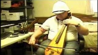 Bowed Dulcimer playing Holy Manna