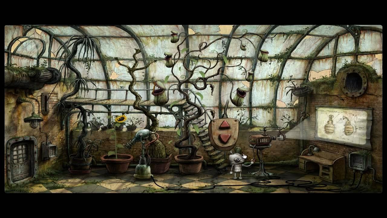 Machinarium Walkthrough 720p HD Part 6