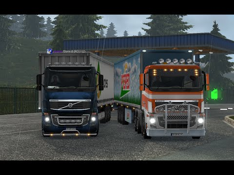 Euro Truck Simulator 2   Glasgow to Linz