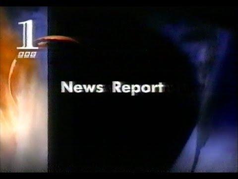 Princess Diana Crash - First BBC News Report (interrupting 'Borsalino') 1997