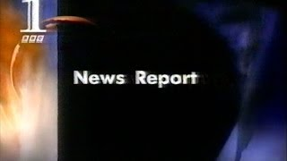 Princess Diana Crash - First BBC News Report (interrupting 'Borsalino') 1997 thumbnail