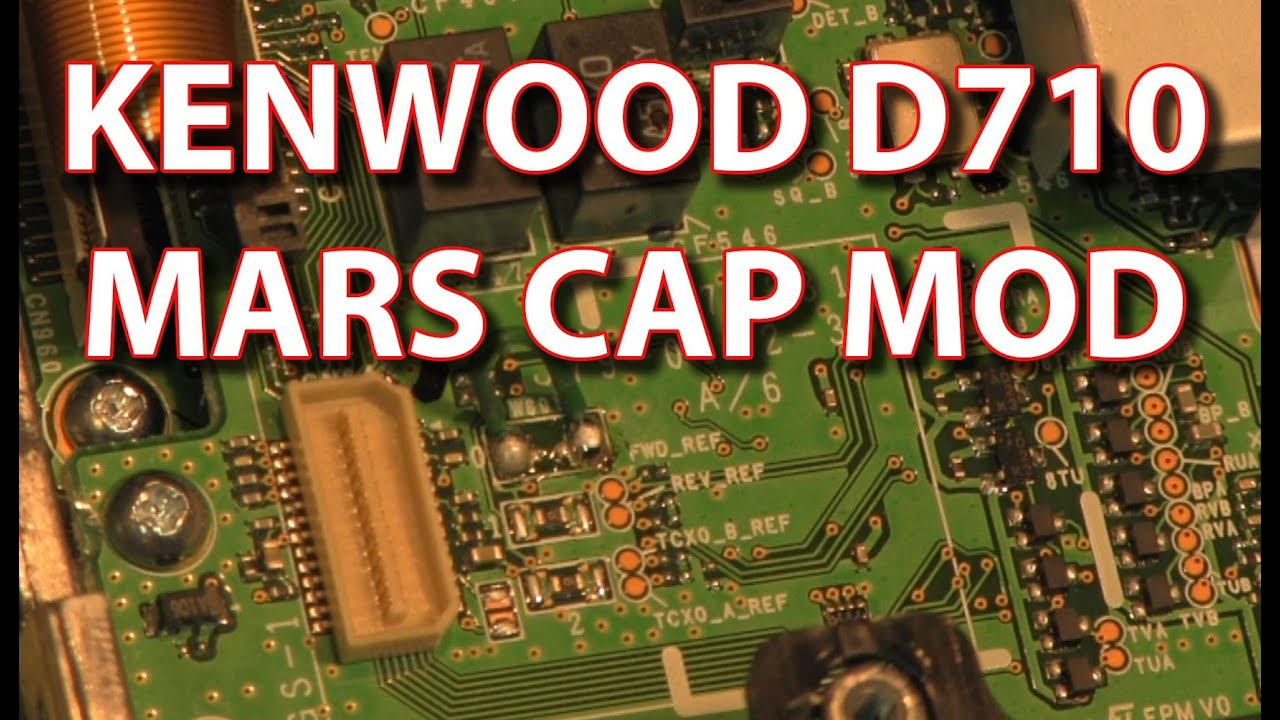 Kenwood TM D710 Mars Cap Unlock Mod - How to Expand Your UHF VHF Bands