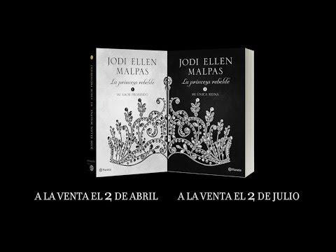 """booktrailer-""""la-princesa-rebelde""""-de-jodi-ellen-malpas- -editorial-planeta"""