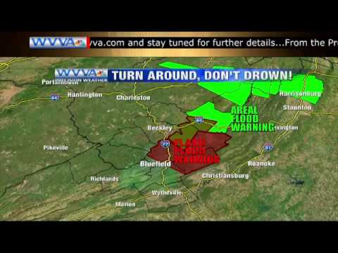 "WVVA BEST WEATHERCAST of the YEAR ""WV FLOODING"""