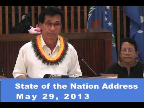 FSM President's State of the Nation Address 2013