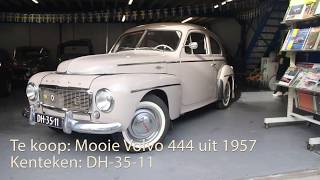 TE KOOP! Mooie Volvo 444 uit 1957.