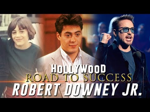 Hollywood Road to Success - Robert Downey Jr.