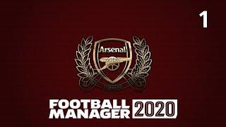 Football manager 2020 Арсенал Лондон 1 Трансферы тактика первый матч