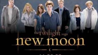TWILIGHT Saga New Moon Soundtrack!!    kissing scene song!!!