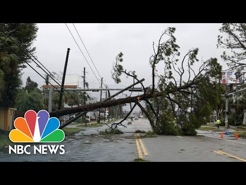 Scenes From Hurricane Michaels Destruction In The Florida Panhandle | NBC News
