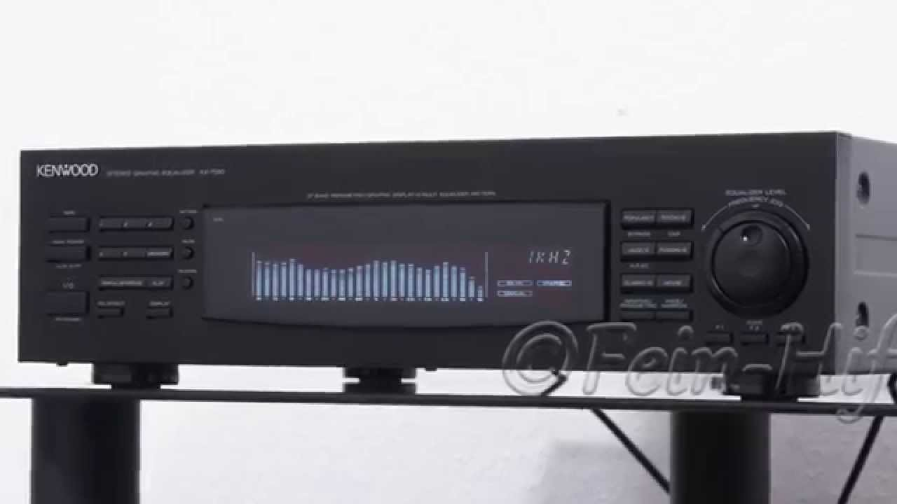 Kenwood Ke 7090 Hifi 14 Band Equalizer Youtube