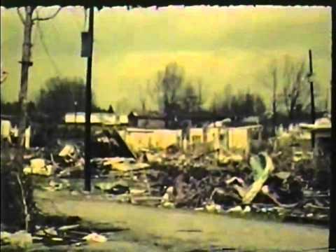 guin alabama tornado april 3 1974 youtube