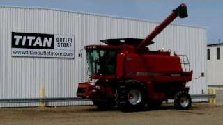 case ih 2588 1011 hrs uptime ready pro 600 chopper combine sold on els