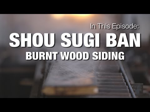 Charred Wood Siding - Shou Sugi Ban