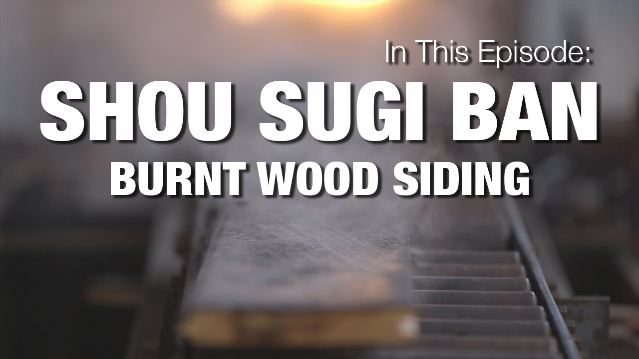 Charred Wood Siding Shou Sugi Ban Youtube