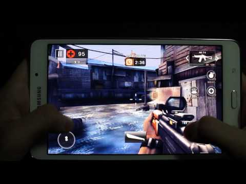 Samsung Galaxy TAB 4 7.0 Gaming