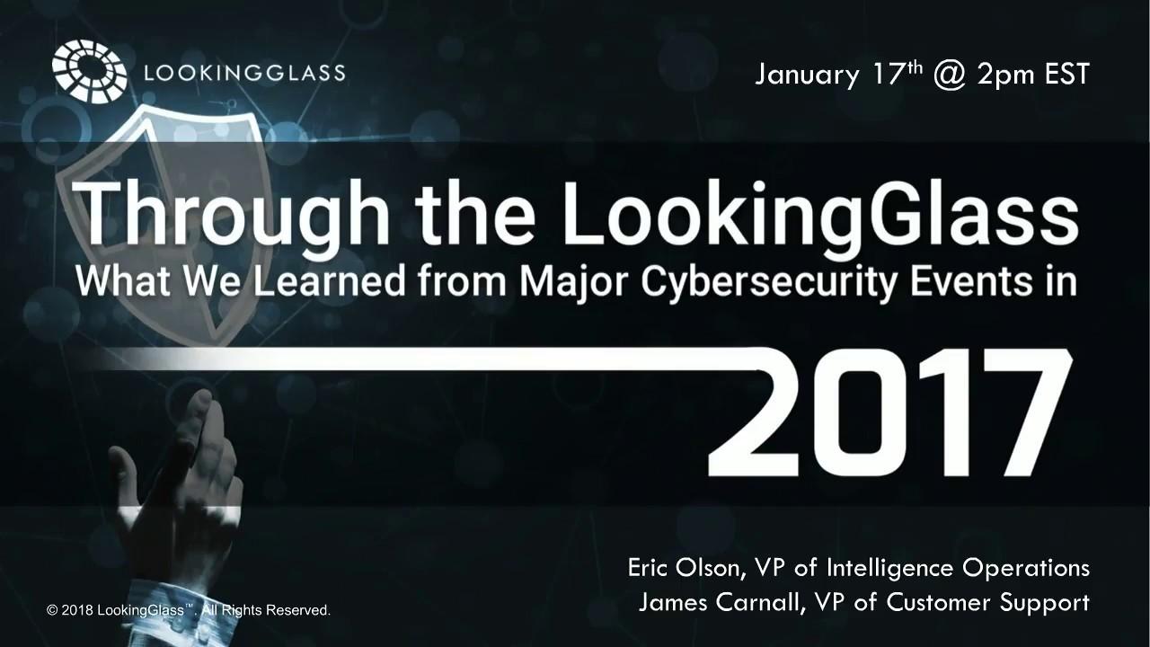 Working at LookingGlass Cyber Solutions | Glassdoor