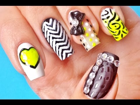 Hot Nails & Cute Designs For Back To School 2013!