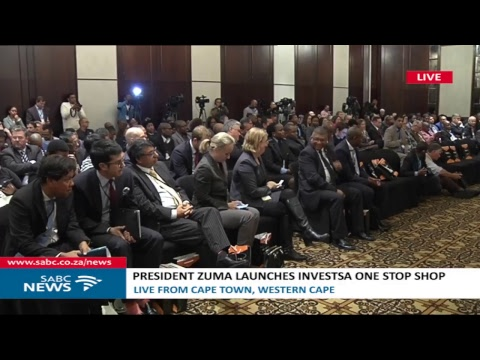 President Zuma launches InvestSA in Cape Town