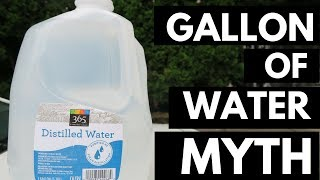 Why Drinking a Gallon of Water a Day is Bullsh*t