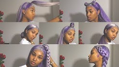 7 QUICK & EASY STYLES FOR YOUR FULL LACE WIG   FT. MC7 COLLECTION   TONI ALIEL