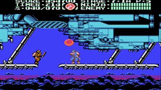 Ninja Gaiden 3 - The Ancient Ship of Doom  - Nes - Full Playthrough - No Death ♛