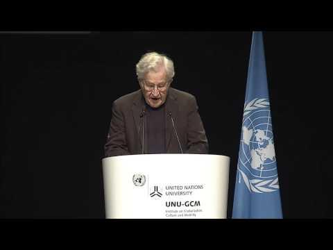 UNU-GCM – 2016  Annual Guest Lecture with Professor Noam Chomsky – 5 November 2016
