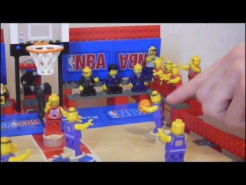 Lego Basketball 3432 - Unique Streetball Court - Lego NBA Game