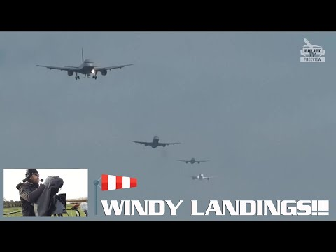 Windy Arrivals LIVE From London Heathrow #Airport