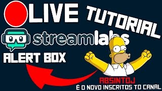 Tutorial Alerta de Novos inscritos em Livestream no Youtube (StreamLabs Alert box) thumbnail