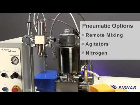 Fisnar Video: LC50FR Dispense Metering And Mixing Machine