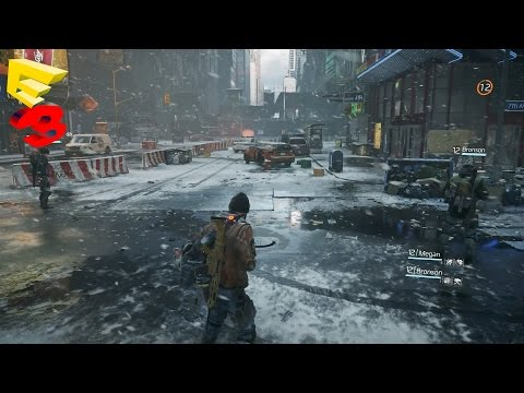 Tom Clancy's The Division - Gameplay Mechanics Explained - Multiplayer Gameplay Trailer E3 2015