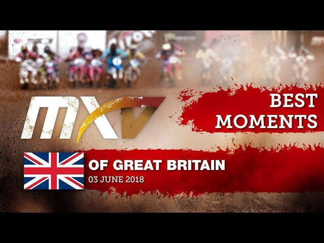 VMX Race2 Best Moments - MXGP of Great Britain 2018