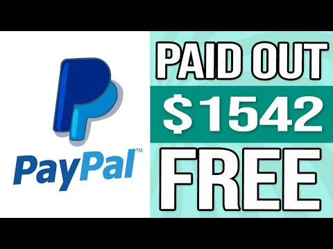 This SITE PAID $1542 In ONE DAY FREE PayPal Money INSTANTLY (Make Money Online)