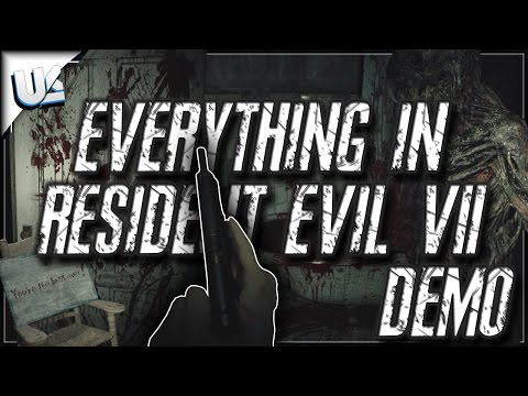 Everything In Resident Evil 7 Demo | All Secrets, Dirty Coin, Giggles, True Ending, Infected Ending