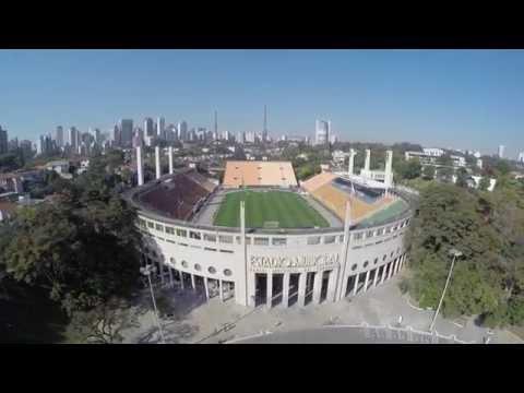 Drone Estádio do Pacaembu 08/08/2015