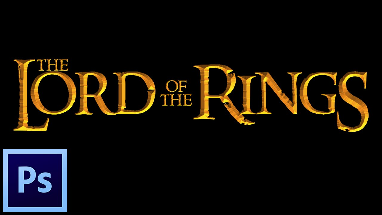The Lord Of The Rings Logo Font