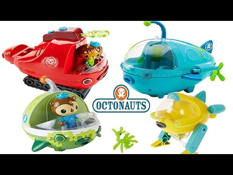 OCTONAUTS LOTS OF GUP S, GUP, A, GUP E, GUP X, GUP U, SEA SL
