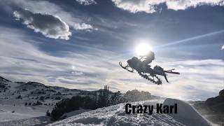 BEARTOOTH PASS // SKIING // SNOWMOBILING // 2018