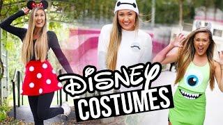 diy disney pixar halloween costumes baymax minnie monsters inc   laurdiy