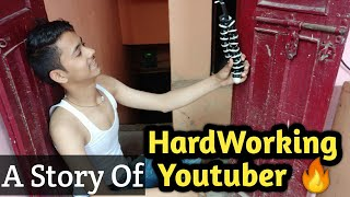 A Short Story Of Hardworking Youtubers | Youtube Earning Cut 2020