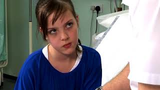 Girl With Arm Burn